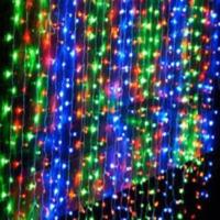 Светодиодный Дождь-Водопад 2х2м цветной
