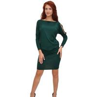 1372 Платье Темно-зеленый