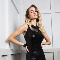 Платье ELLETTO LIFE Артикул: 1743 черный