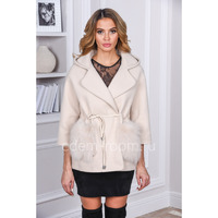 Пальто -куртка из кашемира, весенне - осенняя Артикул:P-891257-B