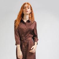Платье в горох PL864/parsons