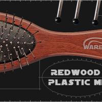 RedWood Plastic MIDI Расчёска с металическими прутиками   (7 мм)