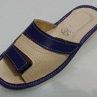 039-5-35 Обувь домашняя (Тапочки кожаные)