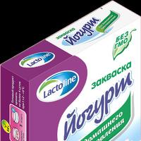 Йогурт Лактолайн-Сакко (Италия), пак. 1 гр.