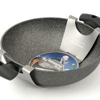 Сковорода Вок с антипригарным покрытием O28 см. Серия «GRANITO FORTE»