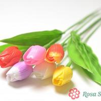КОСМО Одиночный тюльпан пластиковый