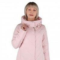 Куртка утепленная Плащевка Розовый