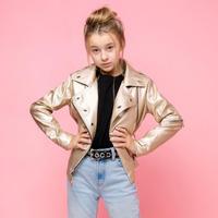 """Куртка-косуха для девочки """"VKD-21"""""""