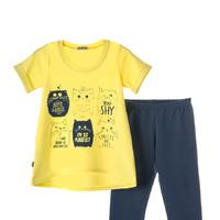 Комплект 918А сине-желтый