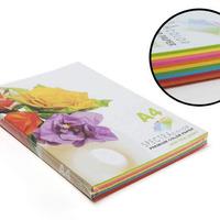 Бумага А4 100л. 80г/м2 10цв.х10л. 'Spectra Color' 85B
