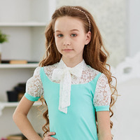 "Блузка школьная ""Бант-галстук"""