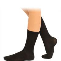 Носки для хореографии, увеличенный паголенок (гладь)
