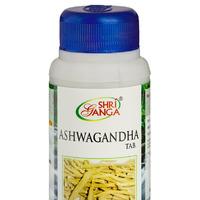 Ашвагандха, 120 таб, производитель Шри Ганга; Ashwagandha, 120 tabs, Shri Ganga