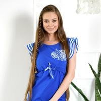 """Домашнее платье для кормления """"SEA""""  1960"""
