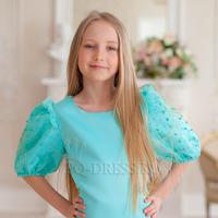 Платье нарядное для девочки арт. ИР-2004, цвет мята
