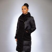 Женская куртка зимняя 9124 черный
