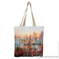 Гобеленовая сумка Tote «Москва»