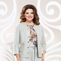 Жакет, юбка, блуза Mira Fashion 4783-4