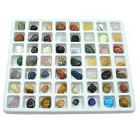 Коллекция минералов 56 самоцветов, 220гр, (19-2)  Артикул: 201571