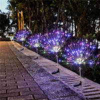Садовый светильник на солнечной батарее Фейерверк 150 Led