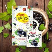 Ароматизатор для дома Fresh fruits Смородина