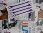 *Фиолетовый/белый (Шнурки силиконовые HILACES)