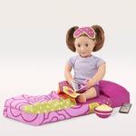Надувной спальный мешок для куклы 46 см  Our Generation
