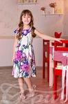 Детское цветное платье
