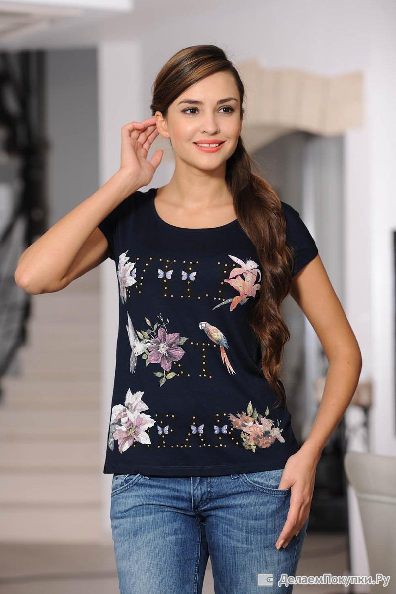 Купить женские футболки турция летние наряды и сарафаны крупных объемов приобрести