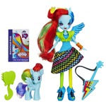 My Little Pony Equestria Girls Rainbow Dash Doll and Pony Set