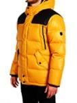 Куртка мужская пуховая удлиненная
