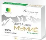 Мумие алтайское «Бальзам гор» 30 табл.     Товар в наличии