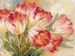 """Набор для вышивания арт.Алиса - 229 """"Тюльпаны"""" 40х30см"""