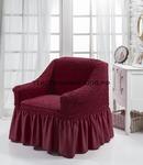 Чехол для кресла Бордовый