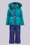A15517, Комплект для девочек, пух, зима