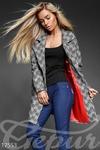 Уютное твидовое пальто  42 44 46