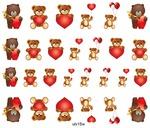 Слайдер-дизайн премиум любовь, сердечки, романтика ulv15w