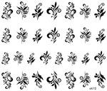 Слайдер-дизайн премиум кружево, узоры