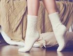 """Носки шерстяные N1R1-1 """"Ажур"""""""