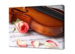 """Картина на холсте """"Скрипка"""" 50х70 см"""