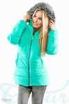 Теплая стеганая куртка 44-52