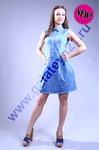 С-460 Платье (под джинсу)