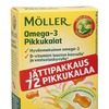 """Moller"" Omega-3 для детей с 2 лет (рыбки)"