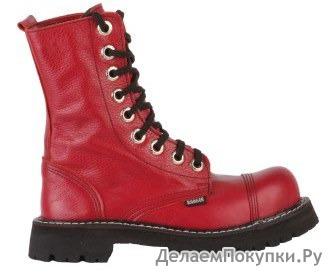 """Ботинки высокие Ranger """"Deep Red"""" 9 колец"""