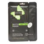 DIZAO Бото-маска для лица и шеи «Бото-сыворотка с коэнзимом Q10», 36г+6г