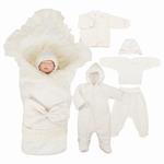 """Комплект на выписку """"Грациозо"""" с одеялом, 8 предметов, демисезонный (цвет в ассортименте)"""