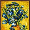 "Набор ""Колор Кит"" картина по номерам арт.КК.CG006 Ирисы, Ван Гог 40х50"