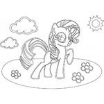 Трафарет Пони №1