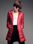 Куртка пуховик тонкий большие размеры арт 1606