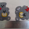 шеврон мишки на клею